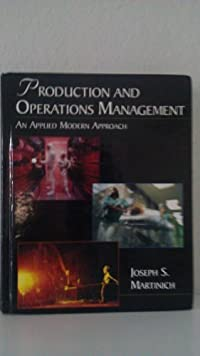 Production/Operations Management download ebook