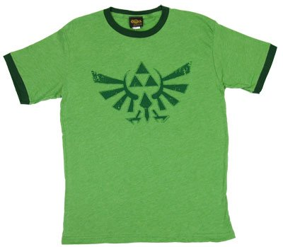 ゼルダの伝説◆TシャツTwilight Princess Triforce-Legend Of Zelda 任天堂