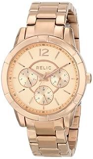 Relic Women's ZR15698 Analog Display Analog Quartz Pink Watch