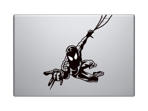 Spiderman Silhouette Decal Macbook Pro Vinyl Wall Art Inspirational Quotes and Saying Home Decor Decal Sticker Ipad Apple Macbook Air Iphone 5
