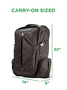 Amazon Com Tortuga Travel Backpack 44 Liter Carry On Sized Travel Backpack Sports Amp Outdoors
