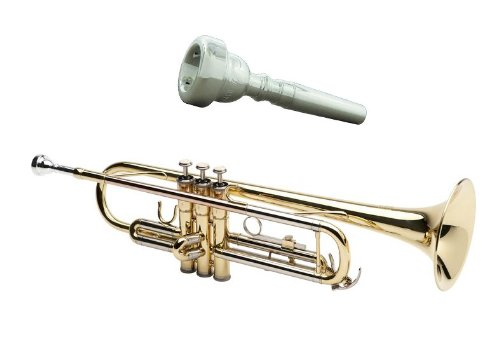 Legacy Intermediate Trumpet TR750 w/ Deluxe Convertible Case, and 2 Year Warranty