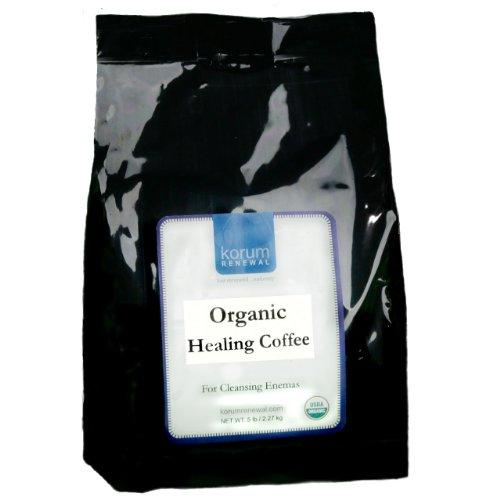 Korum Renewal Organic Healing Enema Coffee - 5 Lb. Fine Grind - Ideal For Gerson Therapy
