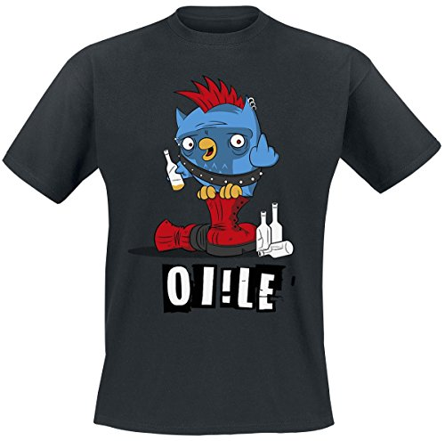 OI!LE T-Shirt nero XL