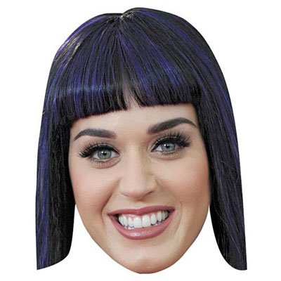 Katy Perry Celebrity Mask, Cardboard Face and Fancy Dress Mask