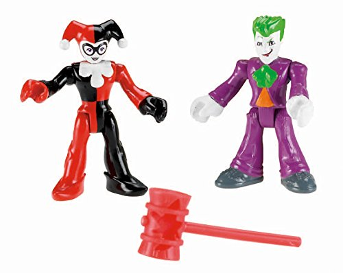 Fisher-Price Imaginext DC Super Friends Joker and Harley Quinn (Batman Imaginext Figures compare prices)