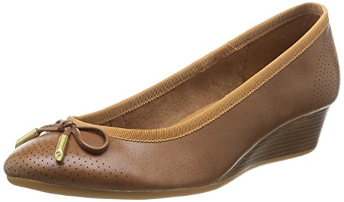 Hush Puppies Hala Candid, Infradito donna Marrone Brown (Tan Leather) 39 1/3