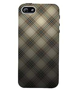 Fuson 3D Printed Pattern Design Designer Back Case Cover for Apple iPhone 5 - D933