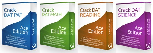 Crack the DAT Ace Bundle Package for the Dental Admission Test (2013-2014 Edition) [Digital Download]