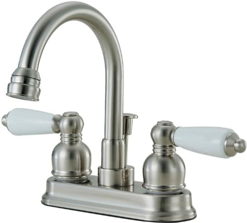 Hardware House 122832 Lavatory/Bar Faucet, Satin Nickel