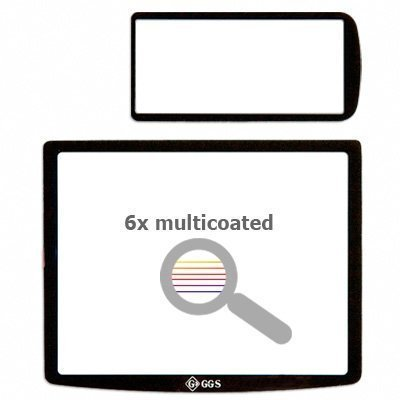 Ggs Dslr Lcd Optical Glass Screen Protector For Pentax K-X Digital Slr Cameras