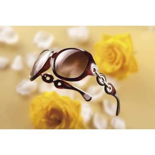 ファルチ ニューヨーク レディースファッショングラス ダークブラウンハーフ A-FN9750 【サングラス 女性 おしゃれ 紫外線透過率1.0%以下 プラスチック】