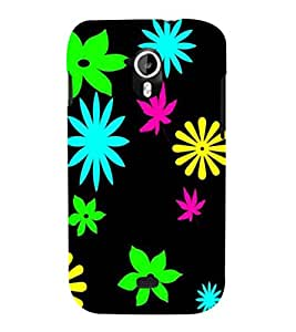 printtech Floral weed Pattern Back Case Cover for Micromax Canvas HD A116::Micromax Canvas HD Plus A116Q