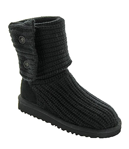 Ugg Australia Classic Cardy Youth US 12 N Black Winter Boot (Uggs Kids Classic Tall compare prices)