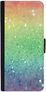 Snoogg Rainbow Crystalsdesigner Protective Flip Case Cover For Samsung Galaxy...