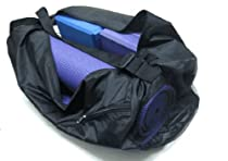 Rolling Sands Nylon Duffle Mat Bag, Black
