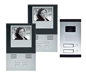 secusic 4852s video t rsprechanlage 2 familien. Black Bedroom Furniture Sets. Home Design Ideas