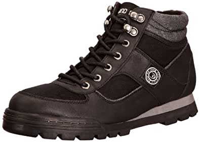 Duck and Cover Mens Harrier Shoes, Black, 7 UK