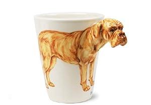 Dogue de Bordeaux Handmade Coffee Mug (10cm x 8cm)