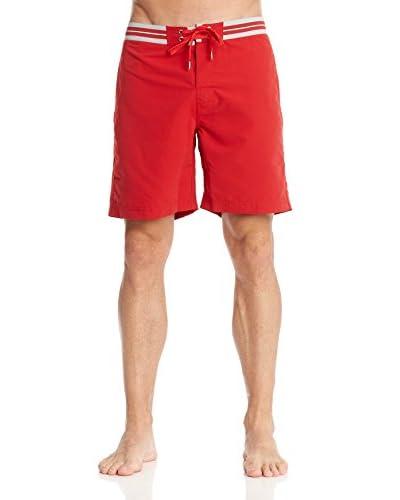 Guess Shorts da Bagno [Rosso/Grigio]
