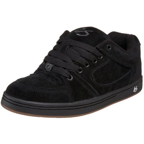 eS Men's Accel Skate Sneaker,Black,11.5 M US