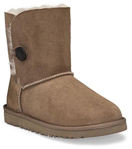 "Ugg Australia Toddlers Bailey Button"" Sheepskin Boots"