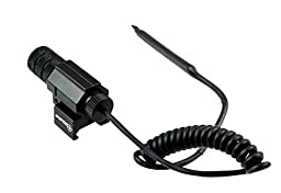 SNIPER®Compact Tactical Adjustable Red Laser Less Than 5mw with Picatinny Rail (Perfect for Hunting)
