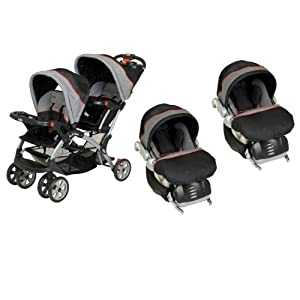 Amazon Com Baby Trend Sit N Stand Double Travel System