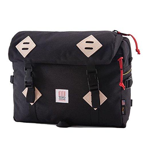 TOPO DESIGNSトポデザインMOUNTAIN BAGマウンテンバッグBLACK(ブラック)ショルダーバッグ 男女兼用 黒 BLACK