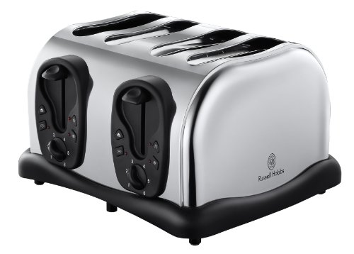 Russell Hobbs 18140 4-Slice Compact Toaster from Russell Hobbs
