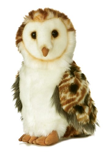 "Aurora Plush 9"" Barn Owl - 1"