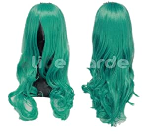 Sailor Moon Long Mix Light Blue Costume Wig Costume Wigs