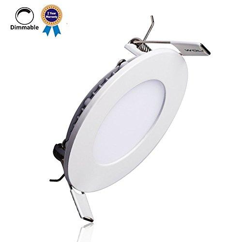 B-right-9W-Dimmbar-LED-Einbaustrahler-LED-Panel-Leuchte-3000K-Warmwei720-Lumen-Rund-LED-Einbauleuchten-Rund-LED-Panel-Lamp-Zwei-Jahres-Garantie