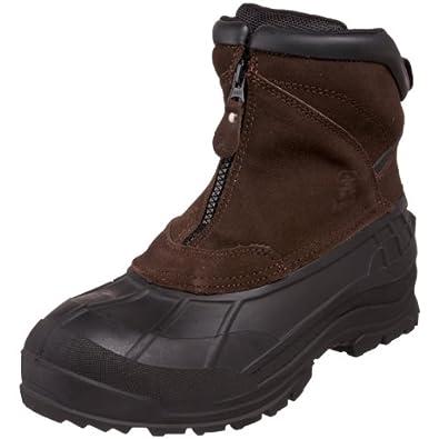 Kamik Men's Champlain Cold Weather Boot,Dark Brown,9 M US