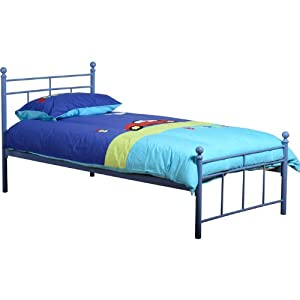 Seconique Callum Boys Blue Metal Single Bed Frame Amazon