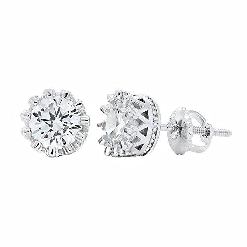 1000-jewels-womens-austin-6mm-15ct-russian-ice-on-fire-cz-crown-set-screw-back-earrings-925-sterling