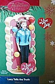 I Love Lucy - Lucy Tells the Truth - 2009 Carlton Cards Christmas Ornament