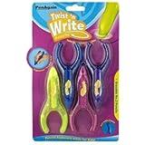 TWIST N' WRITE PENAGAIN CHILDRENS PENCILS, 4-Pack