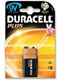 Duracell Plus 9V Pp3 (Mn1604) Battery