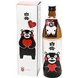 熊本ゆるキャラ【くまもん】パッケージ 【米焼酎 白岳 くまモンボトル 900ml 化粧箱入り】