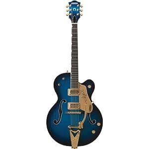 gretsch guitars g6120 chet atkins hollowbody electric guitar blue burst musical. Black Bedroom Furniture Sets. Home Design Ideas