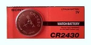 Sony CR2430 Lithium Coin Battery CR2430