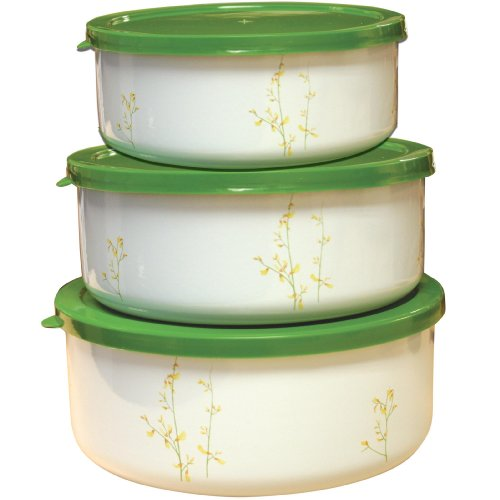Corelle Coordinates Kobe Storage Bowl Set, 6-Piece