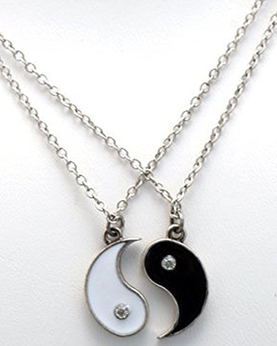 yin and yang friendship necklace set 32 77