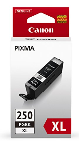 Canon Compatible PGI-250XLBK Black High Yield Pigment Inkjet