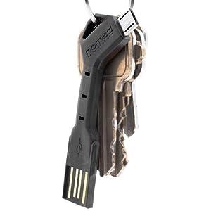 CHARGEKEY | Micro USB Cable, Key Sized - Samsung, Android, Nexus | NOMAD