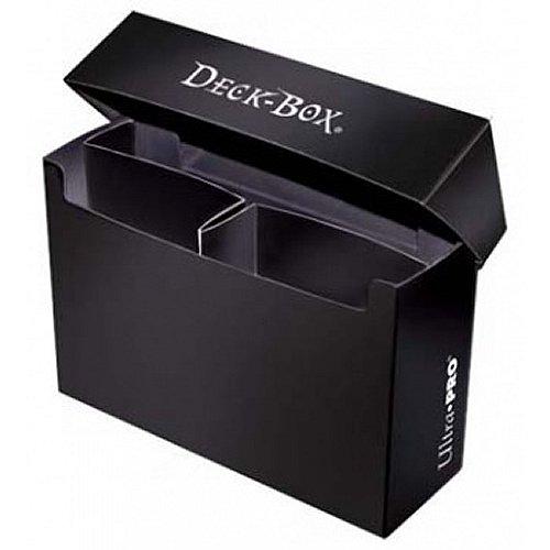 Ultra Pro: Oversized Deck Box - Black (Hold 2 Decks) - 1