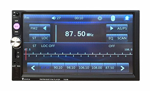 Naladoo 7 Inch Car Stereo Navigation MP5 Player Radio Bluetooth USB AUX(FBA) (Car Stereos With Gps compare prices)