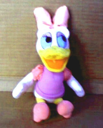 Disney Mini Beanbag Daisy Duck - 1