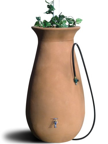 Algreen-Products-83001-Cascata-Deluxe-Rain-Barrel-and-Watering-System-65-Gallons-Discontinued-by-Manufacturer